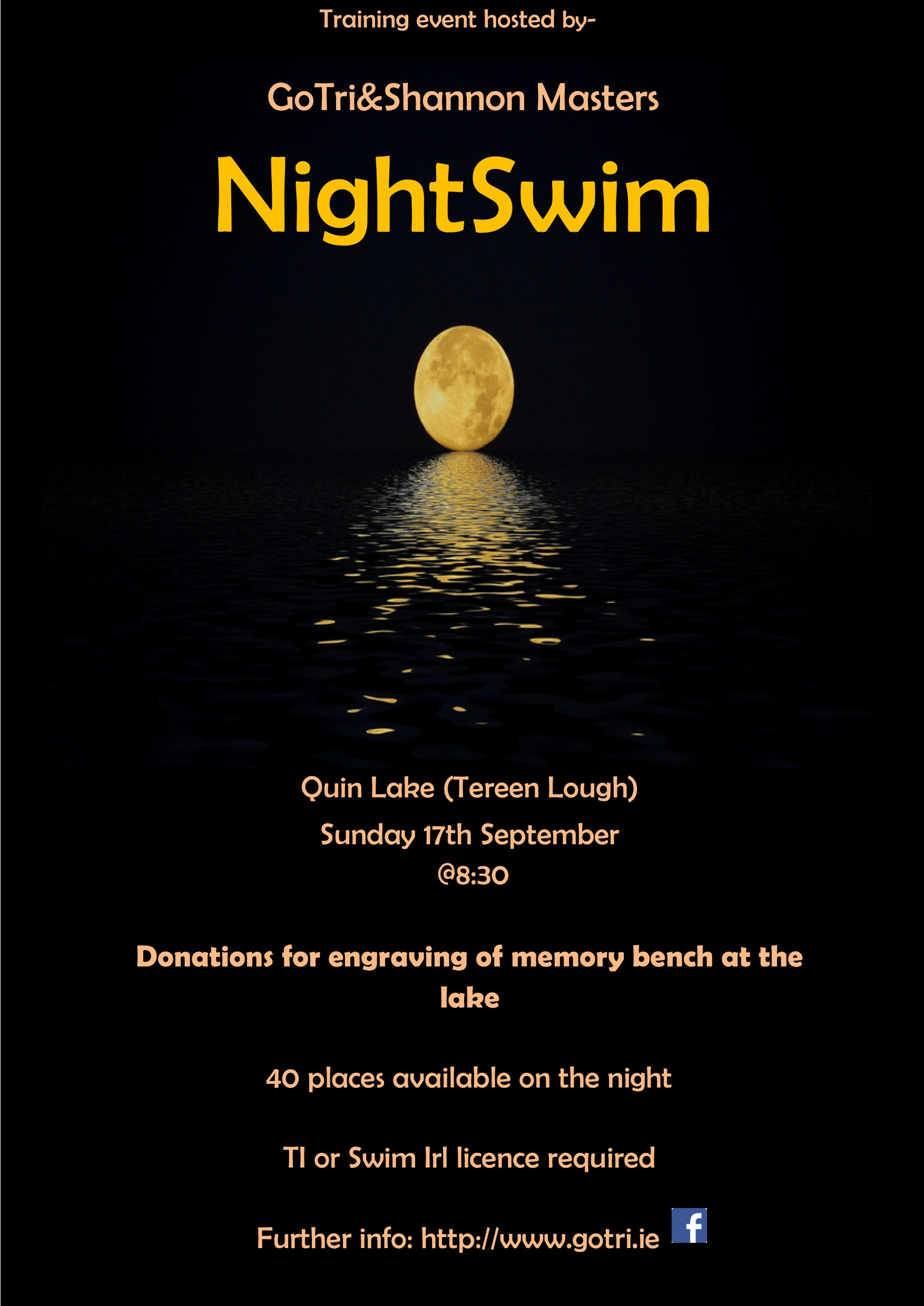 Night swim 2017