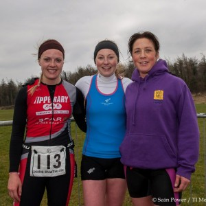 Ennis female podium